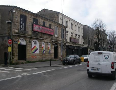 Emprise à déclasser sise quai de Paludate à Bordeaux