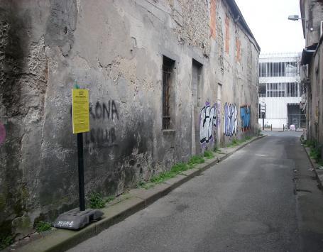 La rue Guyart à Bordeaux