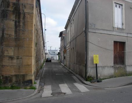 La rue Morin à Bordeaux