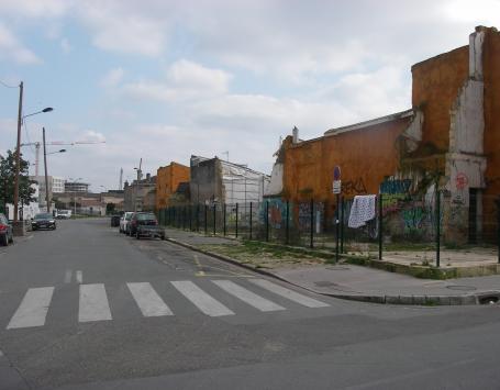 La rue de Son Tay (partie à déclasser) à Bordeaux