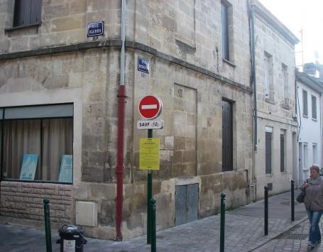 Vue de la rue Bergeon