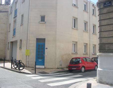 Vue de la rue Dardenne