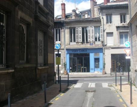 Vue de la rue Laliment