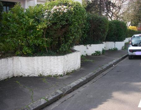 La rue Lacanau à Bordeaux