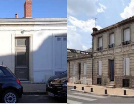 Rue de Rivière et rue Catros Gérand à Bordeaux