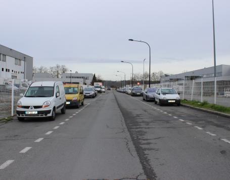 La rue Clément Thomas aujourd'hui, à Bordeaux