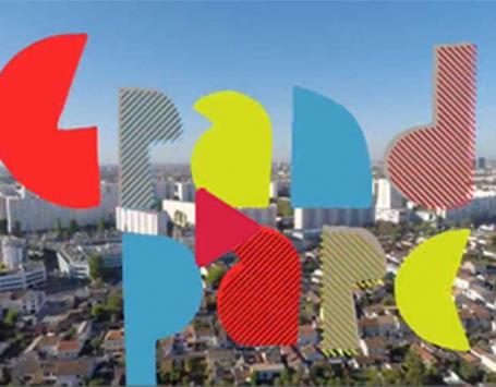 Logo du projet de renouvellement urbain du Grand Parc à Bordeaux
