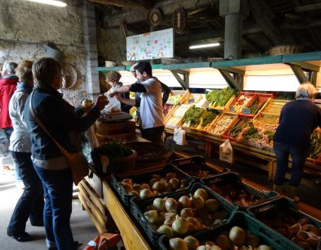 Vente de légumes à la ferme au Haillan