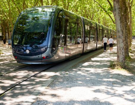 Photo représentant le tramway de Bordeaux