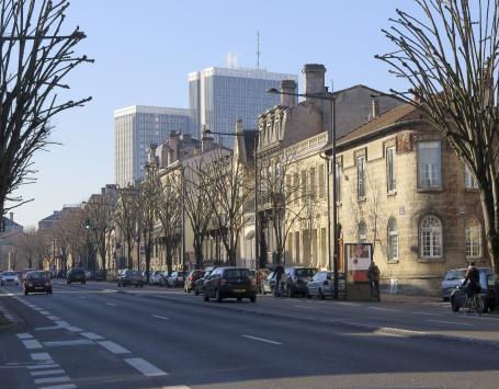 L'ancien boulevard de Caudéran présente parmi les plus belles architectures de la ville de pierre
