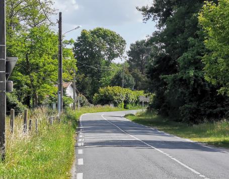 L'avenue de Pagnot