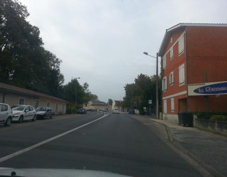 Cours du Général de Gaulle à Gradignan vers Cayac