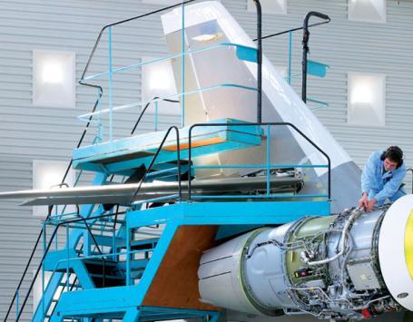 L'aéronautique, activité principale de l'OIM Bordeaux aéroparc