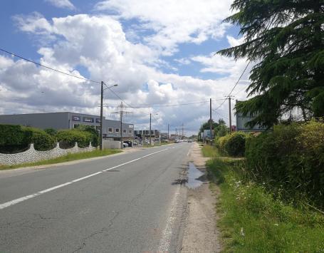Mauvais écoulement des eaux pluviales sur l'avenue Jean Mermoz à Eysines et au Haillan