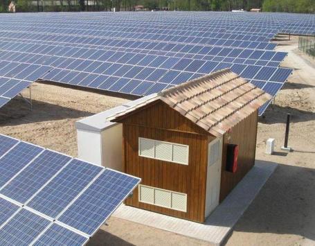 Photo-montage d'une centrale photovoltaïque : projet pour le Bourgailh à Pessac