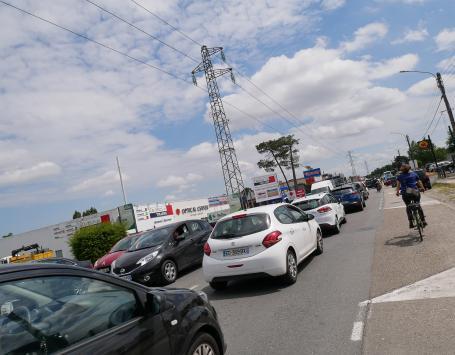 Congestion à Bersol