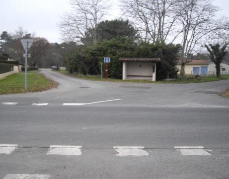 L'intersection entre le chemin des Vignes, la route de Mounic et l'allée des Quatre Vents, dans le périmètre du PAE des vignes