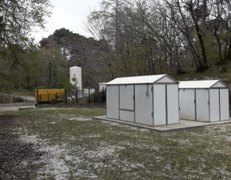 Abris des forages F1 et F1 bis de Cap de Bos - Saint Médard en Jalles