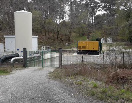 Site d'eau potable de Cap de Bos -  Saint Médard en Jalles