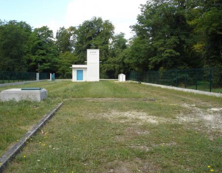 Site d'eau potable de Caupian à Saint-Médard-en-Jalles
