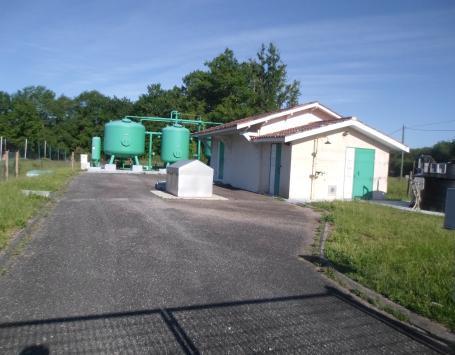Site d'eau potable de Caupian – St Médard en Jalles forage Landes-de-Piques