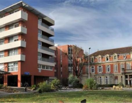 Le bâtiment 24 actuel à démolir partiellement dans le cadre du projet Bahia