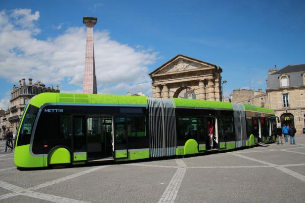 Mettiz le BHNS de Metz